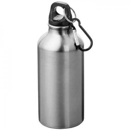 Alumínium kulacs karabinerrel-ezüst