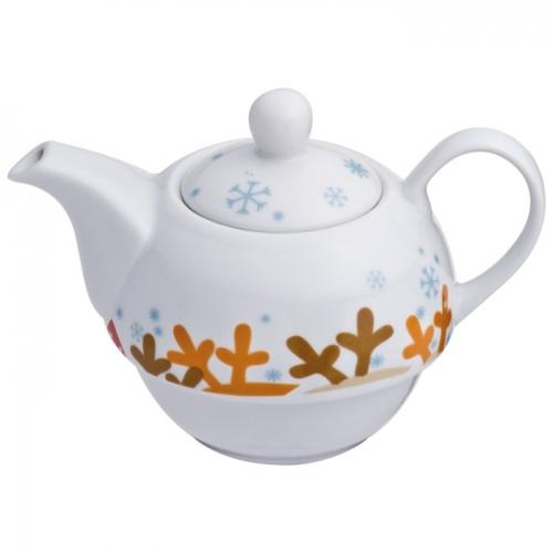 Porcelán teáskanna