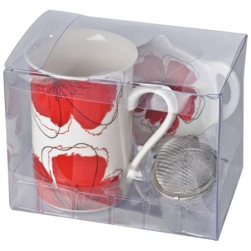 Porcelán teás szett