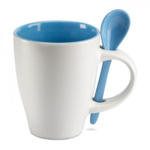 Csésze kiskanállal
