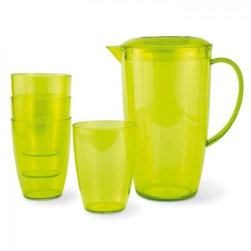 Kancsó és poharak
